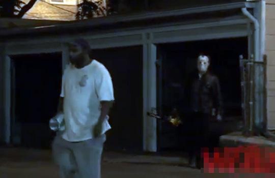 【閲覧注意】もし夜道でチェーンソーを持ったジェイソンに襲われたら・・・