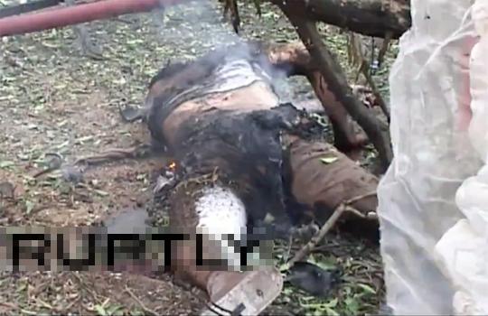 【グロ動画:死体】イラン大使館爆破映像・・・丸焦げ死体が散乱・・・