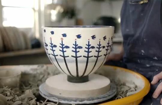 【おもしろ動画】轆轤と陶器で作ったアニメーションがすごいwww