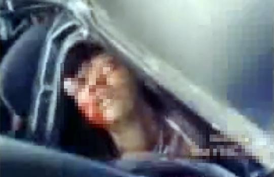 【グロ:事故】家族の乗った車がクラッシュ・・・目玉が飛び出して死亡