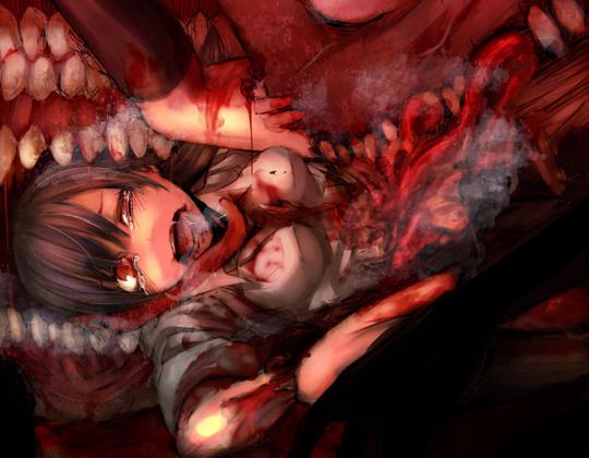 【グロ:リョナ】ヒロインが暴行・陵辱・殺されていくリョナ画像