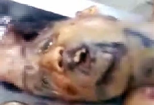 【グロ動画】殺人事件の被害者・・・皮を剥がれ内臓をぶち撒けられた死体