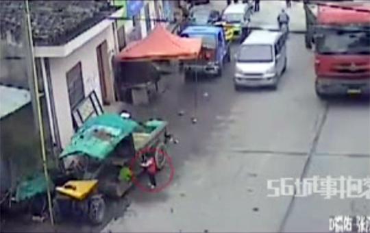 【中国:殺人】遊んでる子供をワザとひき殺して逃走・・・