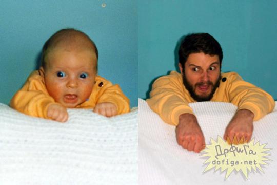 【おもしろ】子供から大人 ビフォーアフター写真が楽しすぎる件www