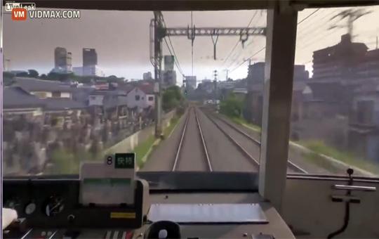 【日本自殺】みなとみらい電車飛び込み自殺映像