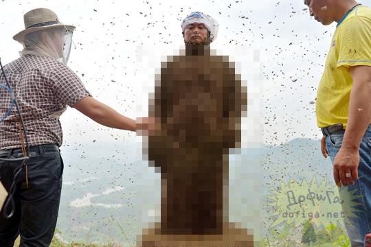 【閲覧注意】蜂に好かれた男の姿がやば過ぎるw【画像10枚】