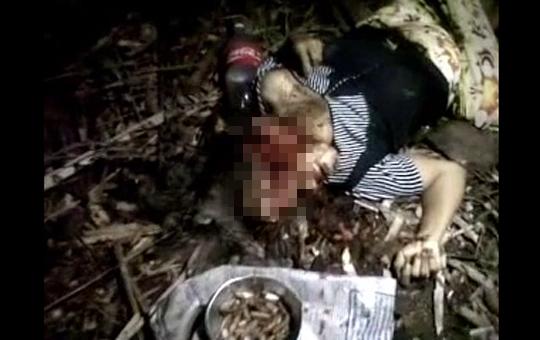 【グロ動画】斧で女性二人を切り殺したンゴ・・・