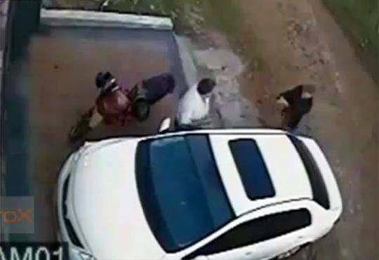 【殺人映像】アルゼンチン殺し屋のお仕事が監視カメラに・・・