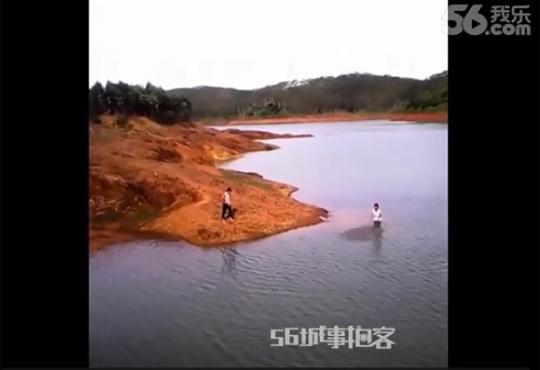 【閲覧注意】川で遊ぶ女の子が溺れ死んで行く一部始終