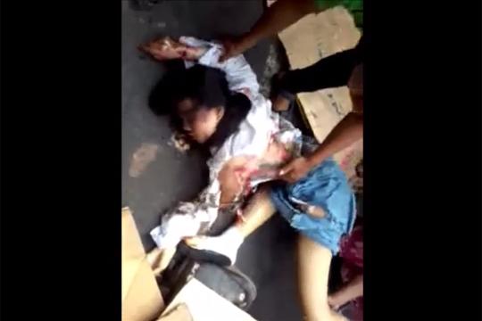【閲覧注意】学校帰り制服のままトラックに轢かれた少女・・・