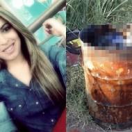 【グロ画像】29歳のコールガールはドラム缶の中で死体で発見された