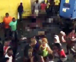 【グロ注意】ハイチのお祭りで20人感電死の映像ヤバい