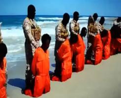 【ISIS】またイスラム国・・・キリスト教28人を一斉に首切り・・・※動画有り
