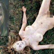 【グロレ○プ】全裸の美女が血塗れ→レ○プ死体だった・・・ ※閲覧注意