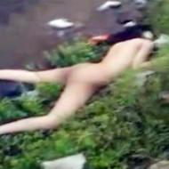 【レイプ死体】川のほとりでレイプされ無惨に殺された少女の全裸死体が見つかる