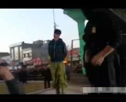 【閲覧注意】イランの公開首吊り死刑の一部始終・・・