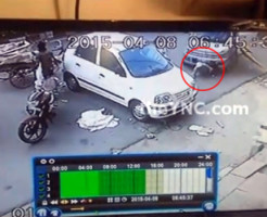 【グロ注意】車に下半身を引き摺られ続けた男性の一部始終・・・