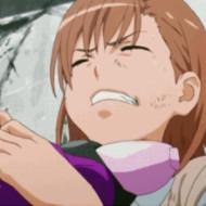 【リョナgif】御坂美琴リョナ 締め上げられて苦悶の表情でおっきする人専用