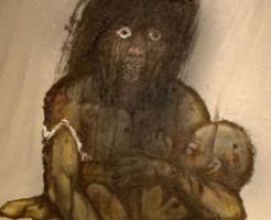 【グロ画像】広島原爆の生存者による絵がヤバすぎる・・・。(13枚)
