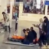 【イスラム】ISIS元気に活動中w今日は若者3人目隠し射殺・・・ ※動画有り