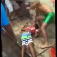 【閲覧注意】泥棒した少年を死ぬまで集団暴行する一部始終