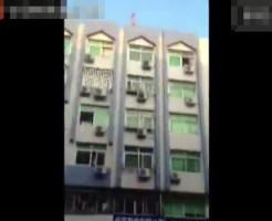 【自殺】中国の女子大生が寮の屋上から窪塚ばりのジャンプ!!
