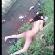 【レイプ殺人】美女が犯されてポイ捨て→全裸で野次馬の晒し者に・・・
