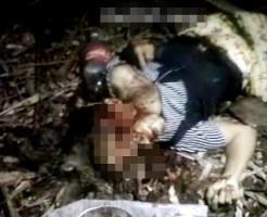 【レイプ殺人】女性二人を犯して斧で頭をカチ割るキチガイ映像・・・