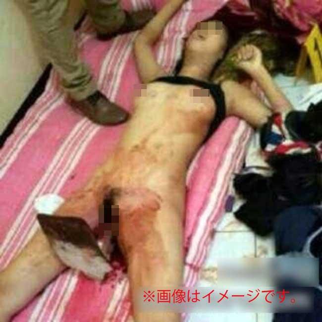 女子高生コンクリート詰め殺人事件猟奇的イメージ