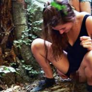 【エロ注意】登山で美女が開放的にw山ガールがこんなエロいとは思わなかったw