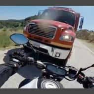 【事故映像】バイク目線で見る事故の瞬間が怖すぎる・・・
