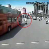 【死亡事故】バスと接触事故で運が悪いとこうなる・・・