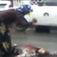 【殺人動画】妻が夫をナイフで刺し殺す一部始終・・・ ※動画有り