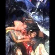 【グロ動画】事故直後の車の中がただの地獄・・・