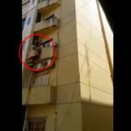 【自殺】傷心した女性が飛び降りて動かなくなるまで・・・