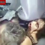 【グロ注意】グチャグチャになった車の中で生還した女性・・・数分後死亡