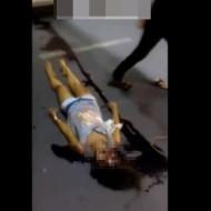 【閲覧注意】可愛い少女が血を流して死んでいく動画・・・