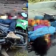 【死亡事故】バイクに乗った状態で死んでる彼氏・・・なお彼女は・・・