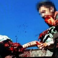 【グロ注意】最悪な殺人映像・・・殺した後その血を飲む殺人犯・・・