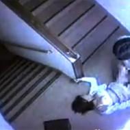 【本物レイプ】監視カメラに映った少女が被害にあった非常階段の強姦事件映像がコレ・・・ ※エロ動画