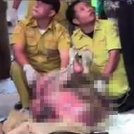 【レイプ死体】スーツケースからダッチワイフ・・・と思ったら女性の死体だった・・・