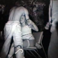【ガチレイプ動画】飲み帰りのギャルがベンチで一休みしていると・・・DQN集団に強姦されてしまっている衝撃映像