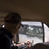 """【閲覧注意】車ですれ違った人たちを銃で皆殺しにする殺人動画の """"第二弾"""" が公開される"""