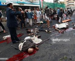 【グロ注意】死傷者60名以上・・・自爆テロの現場がただの地獄・・・※動画有り