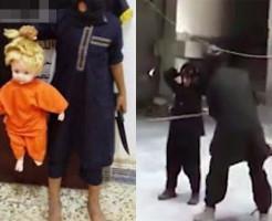 【イスラム国】ISISの教育風景・・・銃の撃ち方から首の切り方までが一般教育