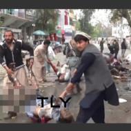 【テログロ】市民を巻き込んだ自爆テロの現場が死体の転がる地獄に・・・