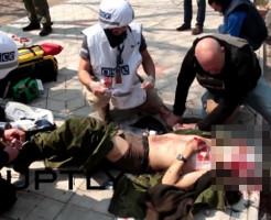 【閲覧注意】紛争地でブービートラップに掛かったジャーナリストの末路・・・