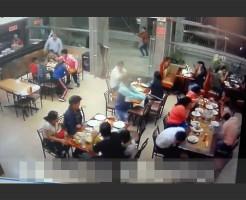 【衝撃映像】偶然撮影された殺し屋が仕事をする一部始終・・・