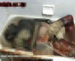 【グロ注意】お風呂に入ったまま死亡した人の死体現場が地獄過ぎる・・・