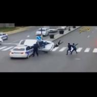 【交通事故】車で人間ボーリングしたらストライク取れた件w